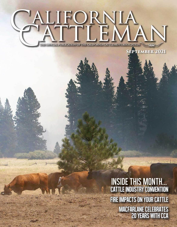 September magazine cover