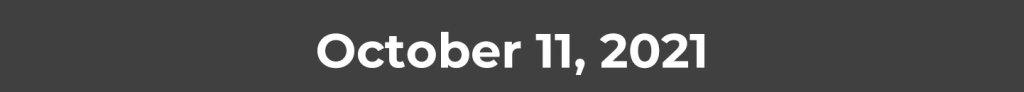 October 11, 2021
