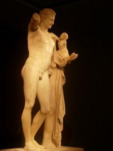 Museo de Olimpia, Hermes de Praxíteles