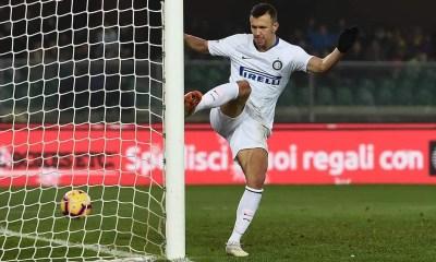Esultanza gol Ivan Perisic Inter-Chievo