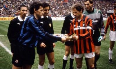 Beppe Franco Baresi Inter Milan