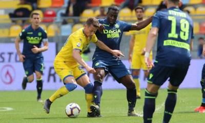 Frosinone-Udinese Okaka