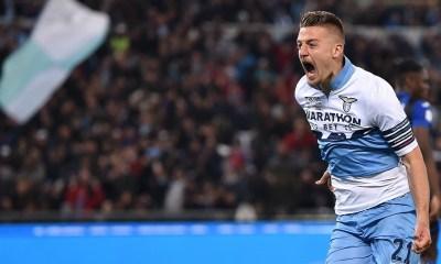 esultanza gol Sergej Milinkovic Savic Lazio