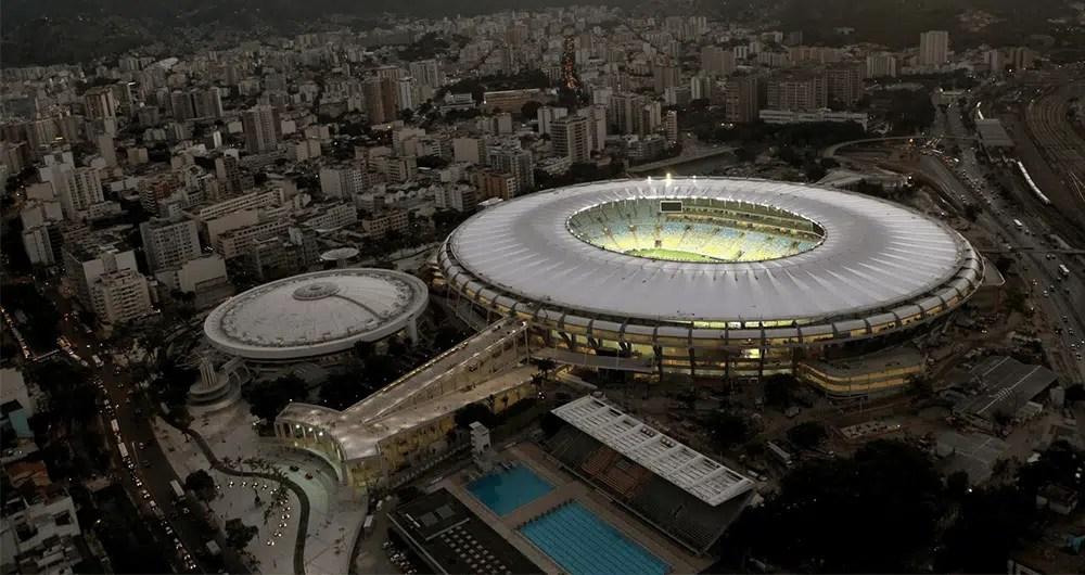 Stadio Maracana-Rio-de-Janeiro