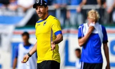 Eusebio Di Francesco allenatore Sampdoria