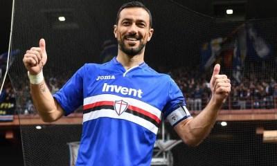 esultanza Quagliarella Sampdoria