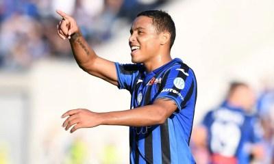 esultanza gol Luis Muriel Atalanta