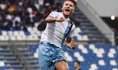 Lazio esultanza gol Ciro Immobile