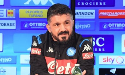 conferenza stampa Gennaro Gattuso Napoli