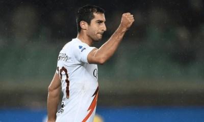 esultanza gol Henrix Hamleti Mkhitaryan Roma