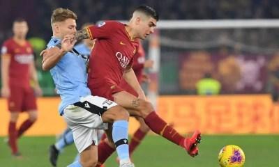 Gianluca Mancini-Ciro Immobile Roma-Lazio