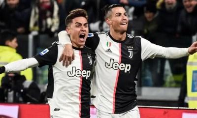 esultanza gol Cristiano Ronaldo Dybala