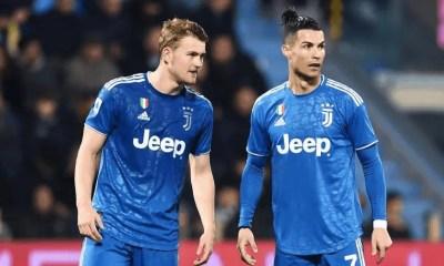 Cristiano Ronaldo-Matthijs De Ligt Juventus