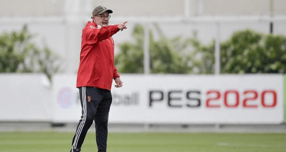 Allenamento Maurizio Sarri Juventus