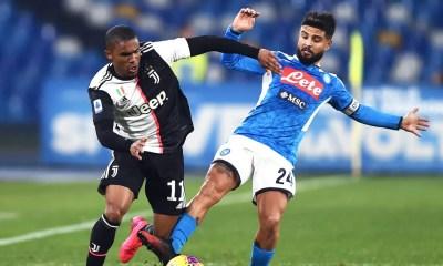 Douglas Costa-Lorenzo Insigne Juventus-Napoli