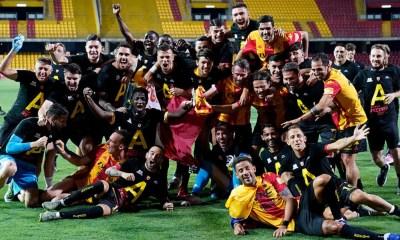 Festeggiamenti Benevento Serie A