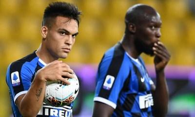 Lautaro Martinez Romelu Lukaku Inter