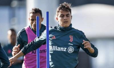 Paulo Dybala allenamento Juventus