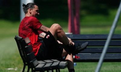 Zlatan Ibrahimovic panchina Milan