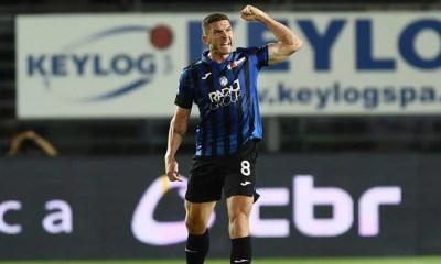 esultanza gol Robin Gosens Atalanta