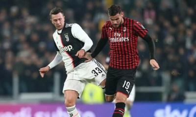 Bernardeschi Theo Hernandez Milan-Juventus