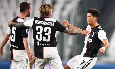 esultanza gol Cristiano Ronaldo Bernardeschi Pjanic