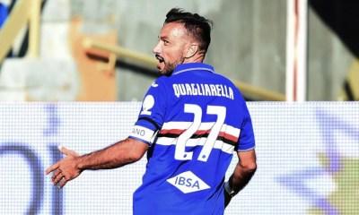 esultanza gol Fabio Quagliarella Sampdoria