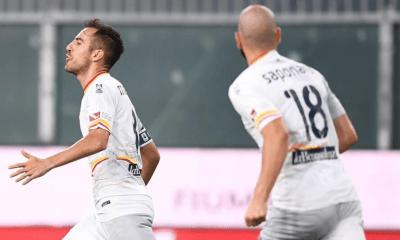 esultanza gol Marco Mancosu Saponara Lecce