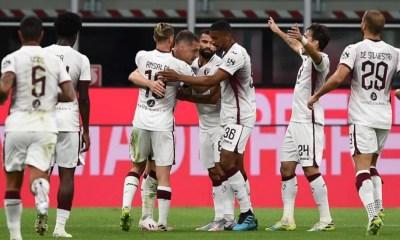 esultanza gol giocatori Torino