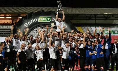 Festeggiamenti Spezia Serie A