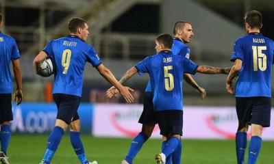 Esultanza Italia Bosnia