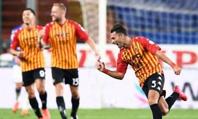 Esultanza gol Letizia Benevento