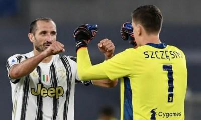 Giorgio Chiellini-Wojciech Szczesny Juventus