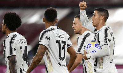 esultanza gol Ronaldo Juventus