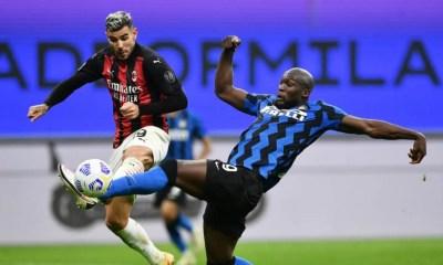 Romelu Lukaku-Theo Hernandez Inter-Milan