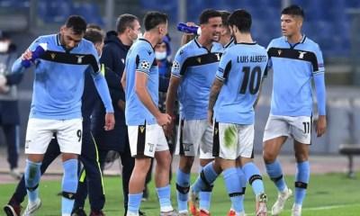 esultanza gol Luiz Felipe Lazio