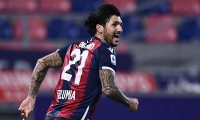 esultanza gol Roberto Soriano Bologna