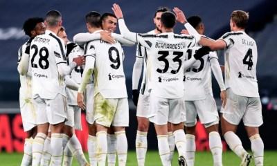 Esultanza gol giocatori Juventus