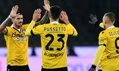 Esultanza De Paul Pussetto Deulofeu Udinese