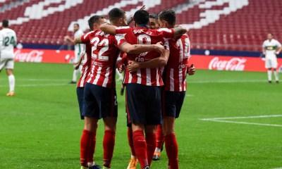 Esultanza atletico madrid Liga