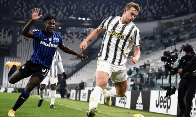 Matthijs de Ligt-Duvan Zapata Juventus-Atalanta