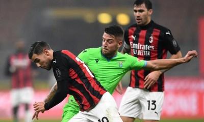 Theo Hernandez-Sergej Milinkovic Savic Milan-Lazio