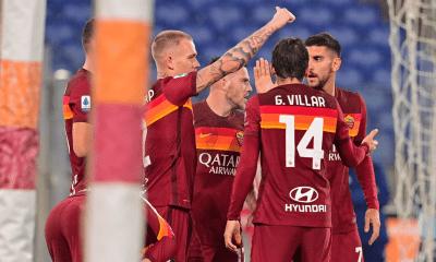 esultanza gol Roma