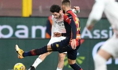 gol Davide Calabria Genoa-Milan