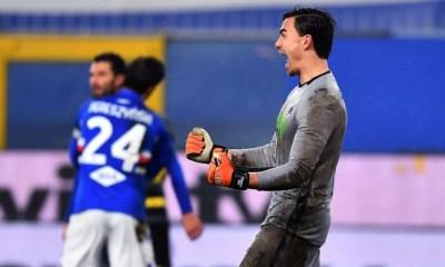 Esultanza Audero Sampdoria