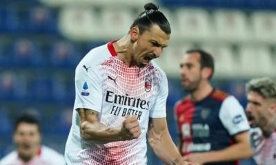 Esultanza Zlatan Ibrahimovic Milan