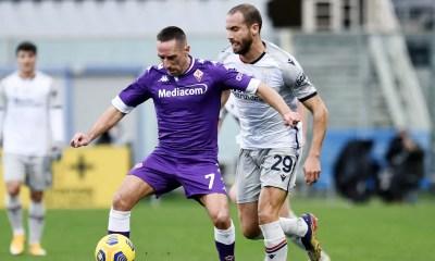 Franck Ribery-Lorenzo De Silvestri Fiorentina-Bologna