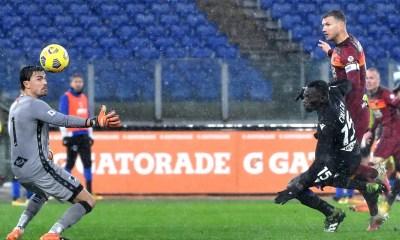 Gol Edin Dzeko Roma-Sampdoria