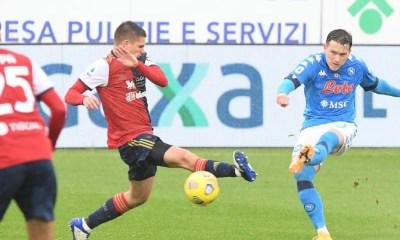 Gol Zielinski Cagliari-Napoli