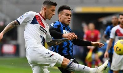 Lautaro Martinez-Luca Marrone Inter-Crotone